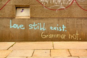 Love still exist - Grammar not